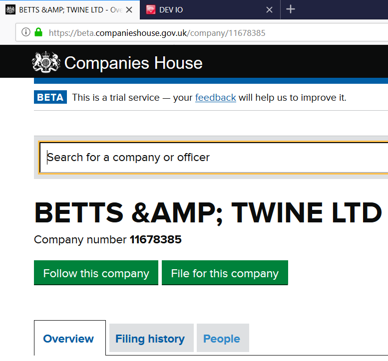 uk companies house search